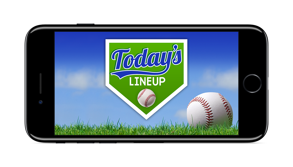 Today's Lineup | Easy baseball lineup app game management